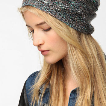 Pins and Needles Slouchy Beanie Hat