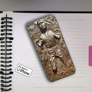Han Solo Frozen in carbonite 2 Art To Device Case Samsung Galaxy S2/S3/S4 and iPhone 4/4s/5/5c/5s