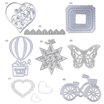 Metal Cutting Dies Stencils Handmade Scrapbook Album Paper DIY Card Craft for Scrapbooking Photo Album Embossing