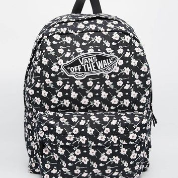 Vans Realm Backpack in Ditsy Floral