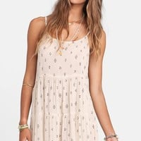 Junior Women's Billabong 'Day Dreamy' Print Swing Dress