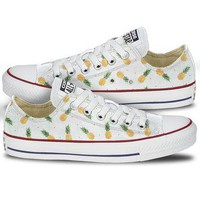 Pineapple Print Shoes Converse