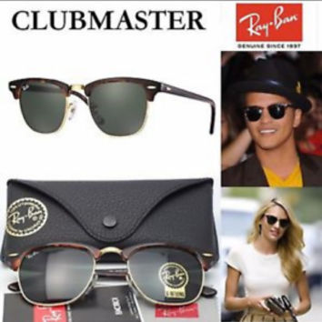 ORIGINAL Ray-Ban Classic Clubmaster model 0RB3016 Classic Unisex Sunglasses New