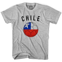 Chile Soccer Ball T-shirt
