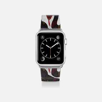 geo snakes transparent apple watch band Apple Watch Band (38mm)  by Sharon Turner | Casetify