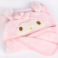 My Melody Hooded Blanket: Classic