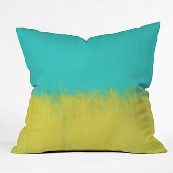 Allyson Johnson Caribbean Throw Pillow
