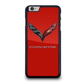 CORVETTE CHEVY LOGO RED iPhone 6 / 6S Plus Case Cover