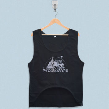Women's Crop Tank - Hogwarts Disney Harry Potter