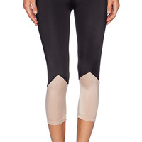 OLYMPIA Activewear Naxos Crop Legging in Black