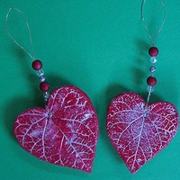 Pair of Red Hearts