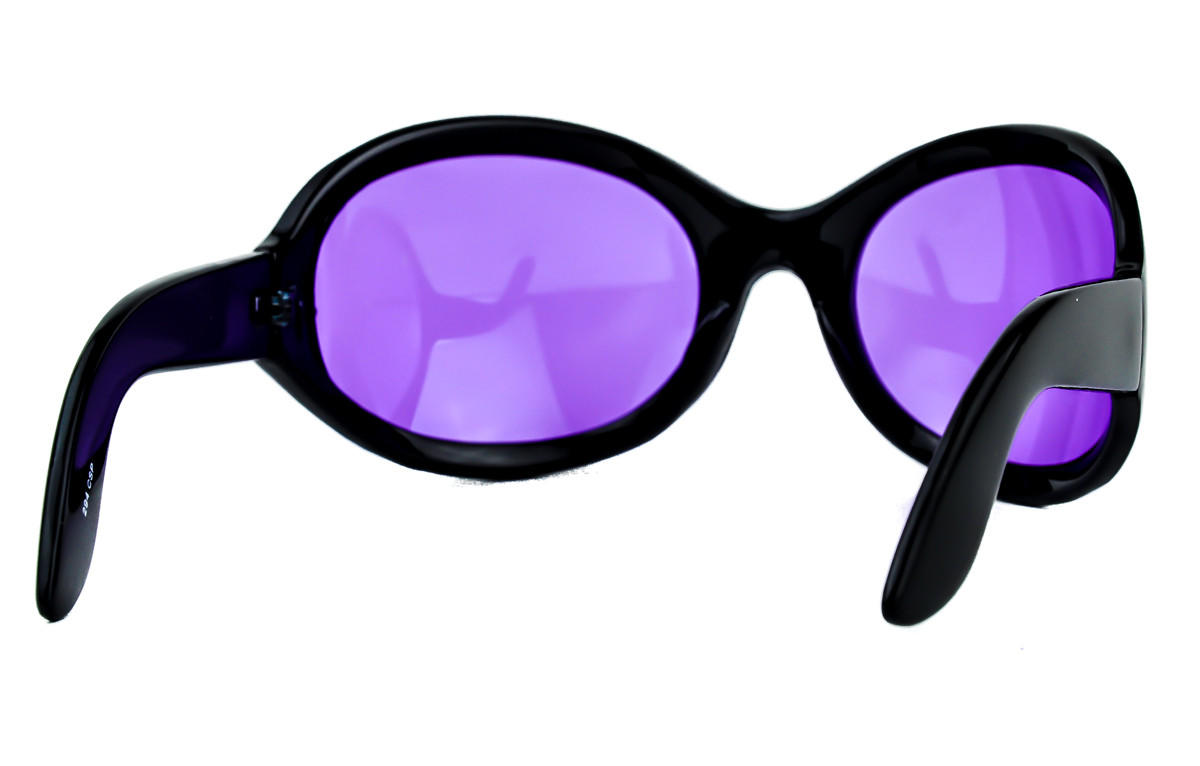 b1aac5f8a0b3 Purple Lens Gothic Vampire Sunglasses from Dysfunctional Doll