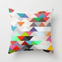 Apartment 01. Throw Pillow by Three of the Possessed