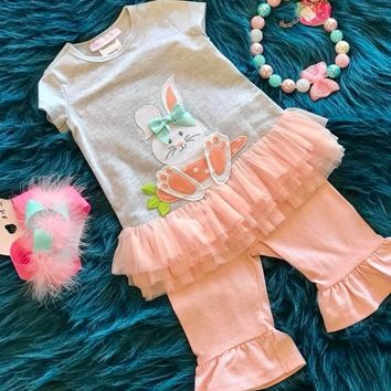 2018 Spring Easter Happy Bunny Set