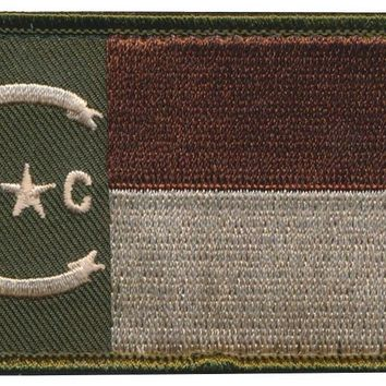 North Carolina State Flag Embroidered Patch