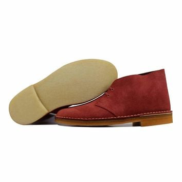 Clarks Desert Boot Brick Red 69978