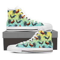 Rooster Pattern Shoes