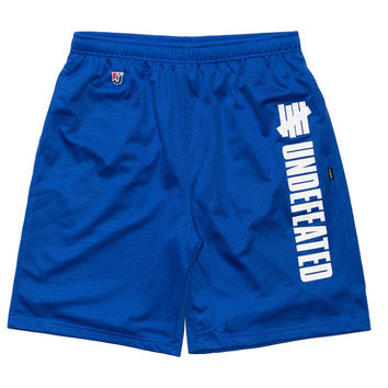 Undefeated: Pole Position Mesh Shorts - Blue