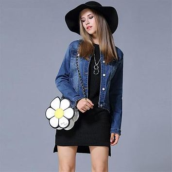 Plus Size Denim Jacket For Women for Beautiful Boho Style