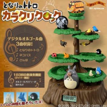 Strapya World : My Neighbor Totoro Karakuri Clock