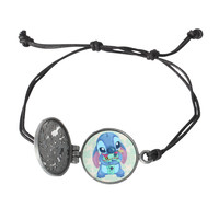 Disney Lilo & Stitch Locket Cord Bracelet