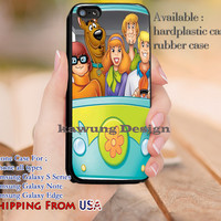 Mistery Machine Scooby Doo iPhone 6s 6 6s+ 5c 5s Cases Samsung Galaxy s5 s6 Edge+ NOTE 5 4 3 #cartoon #animated #ScoobyDoo dl10