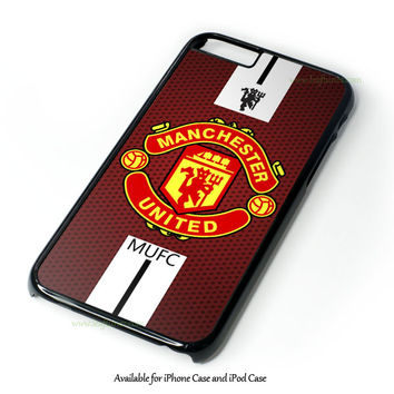 the best attitude f8703 35c94 Manchester United Logo Design for iPhone and iPod Touch Case