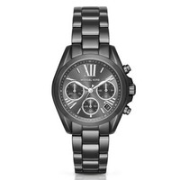 Mini Bradshaw Gunmetal-Tone Watch | Michael Kors