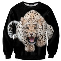 SWEAT LEOPARD  FULL PRINT