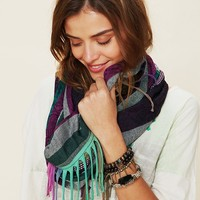 Free People Cut About Fringe Scarf