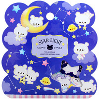 Buy Q-Lia Star Light Bears Seal Sticker Flake Sack at ARTBOX