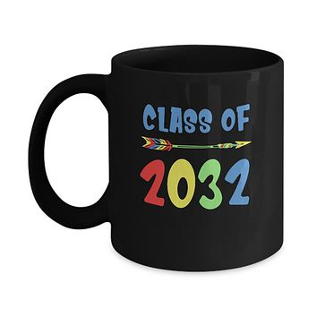 Class Of 2032 Grow With Me Pre-K First Day Of School Mug
