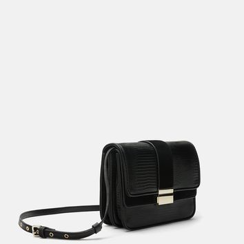 TWO-TONED HANDBAG