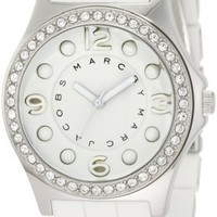 Marc by Marc Jacobs MBM2535 Pelly Glitz Bezel Watch/Silver