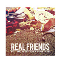 """Real Friends - Put Yourself Back Together 12"""" Vinyl Hot Topic Exclusive"""