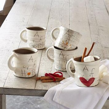 A Cup Of Sentiment Mugs