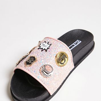 Embellished Sequin Slides