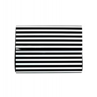 Jimmi Black and White Clutch