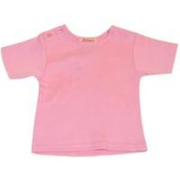 Zutano Pink Short Sleeve Tee Shirt