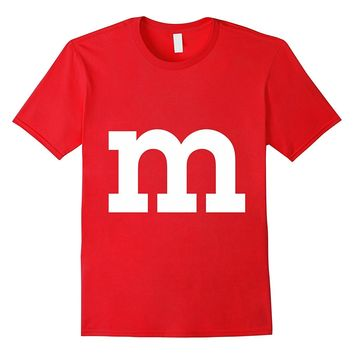 M Candy Halloween Costume t-shirt