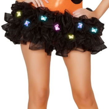 Light Up Black Butterfly Tutu