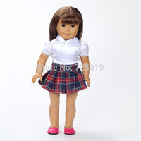 Free shipping!!! hot 2014 new style Popular 18 inches American girl doll clothes/dress