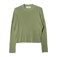 Crew Neck Knit Top | STYLENANDA