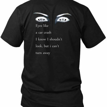 Bring Me To The Horizon Bmth Quote 2 Sided Black Mens T Shirt