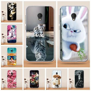 "Case for Alcatel U5 Case Cover Soft TPU Silicone Cover for Alcatel U5 Cover Case for Alcatel U5 4G 5044D 5044Y 5.0"" Phone Cases"