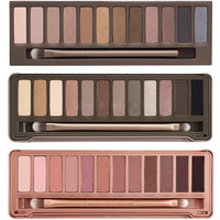 Professional 12 Color Palette Eye Shadow Natural Color Smokey Cosmetic Make-Up Set