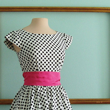 1950's rockabilly dresses with full circle skirt by MichelleTan