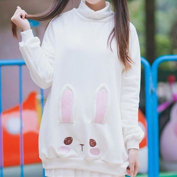 Kawaii S/M Bunny High Color Jumper Japanese Fashion