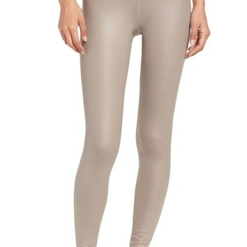 Alo Airbrushed Glossy Leggings   Nordstrom