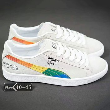 Puma Sample Michaellau Fashion Casual Sport Running Shoes Rainbow G-SSRS-CJZX